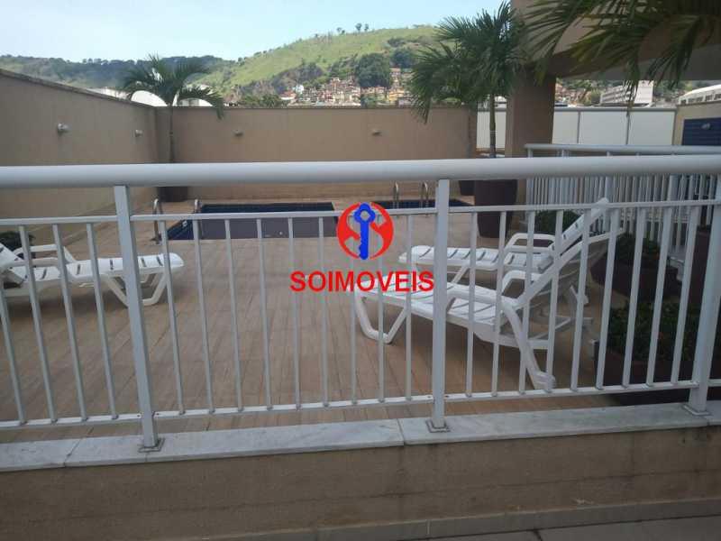 pisc - Apartamento 2 quartos à venda Sampaio, Rio de Janeiro - R$ 225.000 - TJAP21283 - 23