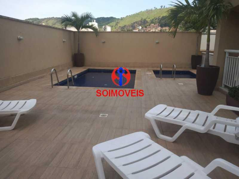 pisc - Apartamento 2 quartos à venda Sampaio, Rio de Janeiro - R$ 225.000 - TJAP21283 - 22