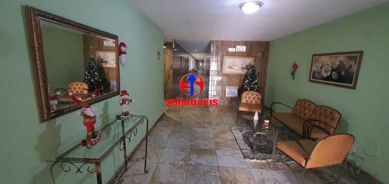 HALL DO PRÉDIO - Apartamento 1 quarto à venda Vila Isabel, Rio de Janeiro - R$ 390.000 - TJAP10288 - 28