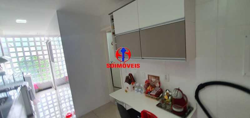 COZINHA - Apartamento 1 quarto à venda Vila Isabel, Rio de Janeiro - R$ 390.000 - TJAP10288 - 9