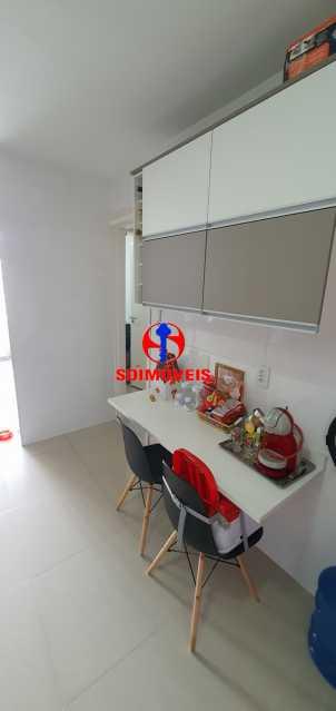 COZINHA - Apartamento 1 quarto à venda Vila Isabel, Rio de Janeiro - R$ 390.000 - TJAP10288 - 10