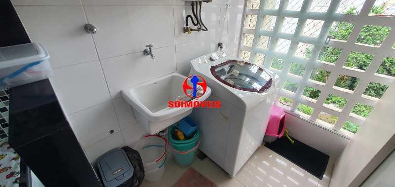 ÁREA DE SERVIÇO - Apartamento 1 quarto à venda Vila Isabel, Rio de Janeiro - R$ 390.000 - TJAP10288 - 11
