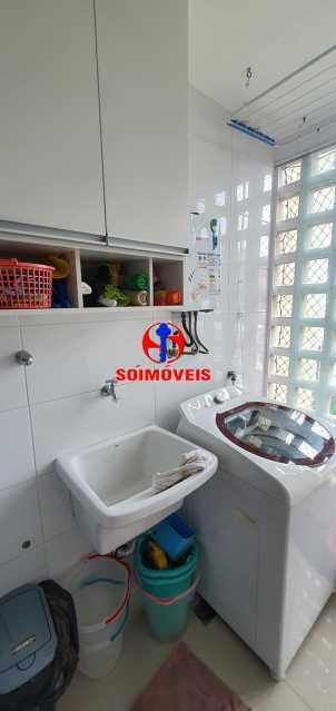 ÁREA DE SERVIÇO - Apartamento 1 quarto à venda Vila Isabel, Rio de Janeiro - R$ 390.000 - TJAP10288 - 12