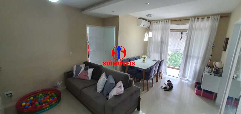 SALA - Apartamento 1 quarto à venda Vila Isabel, Rio de Janeiro - R$ 390.000 - TJAP10288 - 1