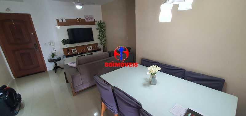 SALA - Apartamento 1 quarto à venda Vila Isabel, Rio de Janeiro - R$ 390.000 - TJAP10288 - 4