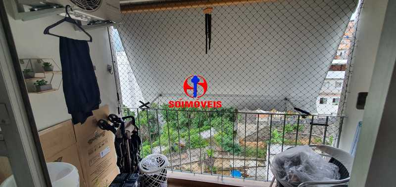 VARANDA - Apartamento 1 quarto à venda Vila Isabel, Rio de Janeiro - R$ 390.000 - TJAP10288 - 6