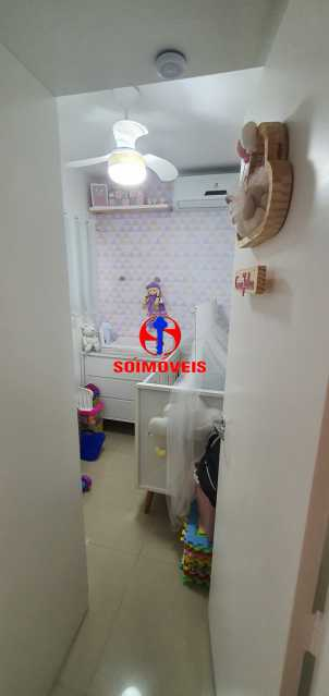 DEPENDÊNCIA REVERT. 2º QUARTO - Apartamento 1 quarto à venda Vila Isabel, Rio de Janeiro - R$ 390.000 - TJAP10288 - 19
