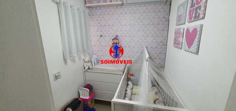 DEPENDÊNCIA REVERT. 2º QUARTO - Apartamento 1 quarto à venda Vila Isabel, Rio de Janeiro - R$ 390.000 - TJAP10288 - 20