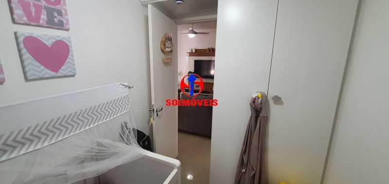 DEPENDÊNCIA REVERT. 2º QUARTO - Apartamento 1 quarto à venda Vila Isabel, Rio de Janeiro - R$ 390.000 - TJAP10288 - 21
