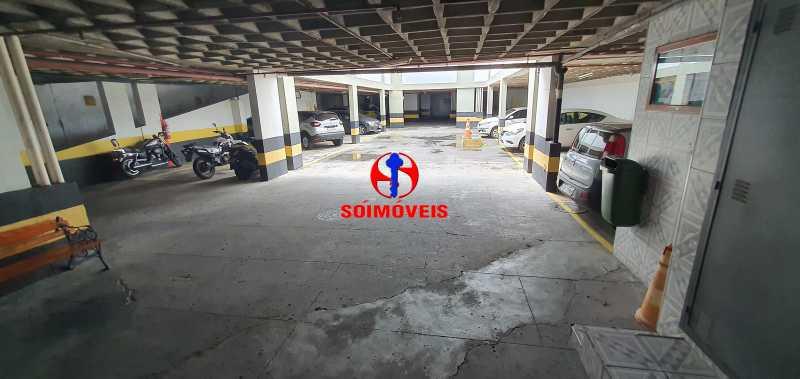 GARAGEM - Apartamento 1 quarto à venda Vila Isabel, Rio de Janeiro - R$ 390.000 - TJAP10288 - 26
