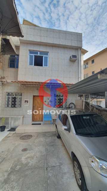 FACHADA - Casa de Vila 3 quartos à venda Vila Isabel, Rio de Janeiro - R$ 700.000 - TJCV30072 - 1