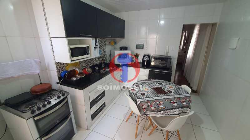 COZINHA - Casa de Vila 3 quartos à venda Vila Isabel, Rio de Janeiro - R$ 700.000 - TJCV30072 - 9