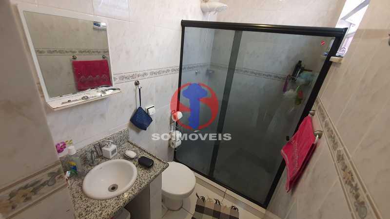 BANHEIRO SOCIAL - Casa de Vila 3 quartos à venda Vila Isabel, Rio de Janeiro - R$ 700.000 - TJCV30072 - 10