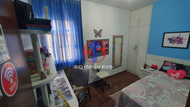 QUARTO 2 - Casa de Vila 3 quartos à venda Vila Isabel, Rio de Janeiro - R$ 700.000 - TJCV30072 - 19