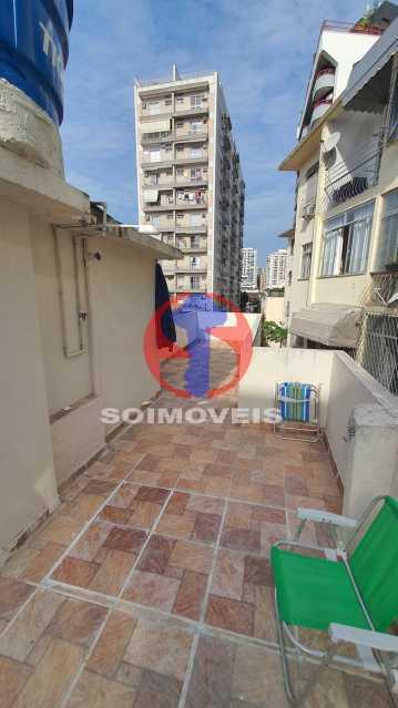TERRAÇO LIVRE - Casa de Vila 3 quartos à venda Vila Isabel, Rio de Janeiro - R$ 700.000 - TJCV30072 - 29
