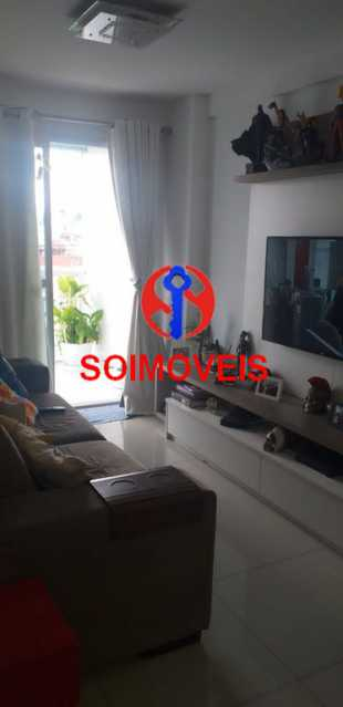 1-sl - Cobertura 4 quartos à venda Tijuca, Rio de Janeiro - R$ 1.400.000 - TJCO40013 - 4