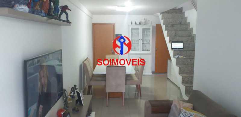 1-sl3 - Cobertura 4 quartos à venda Tijuca, Rio de Janeiro - R$ 1.400.000 - TJCO40013 - 6