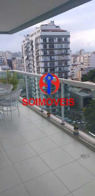 1-var - Cobertura 4 quartos à venda Tijuca, Rio de Janeiro - R$ 1.400.000 - TJCO40013 - 8