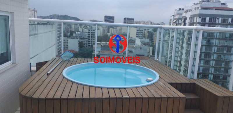 5-terrpisc - Cobertura 4 quartos à venda Tijuca, Rio de Janeiro - R$ 1.400.000 - TJCO40013 - 28