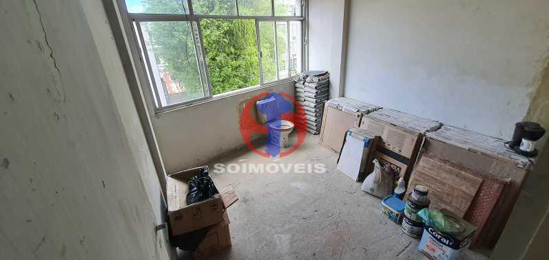QUARTO 1 - Apartamento 2 quartos à venda Rio Comprido, Rio de Janeiro - R$ 270.000 - TJAP21321 - 12