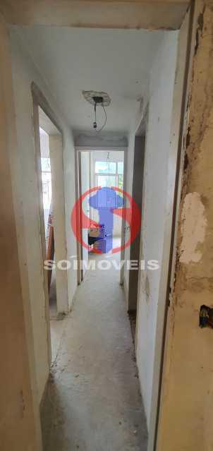 CORREDOR - Apartamento 2 quartos à venda Rio Comprido, Rio de Janeiro - R$ 270.000 - TJAP21321 - 10