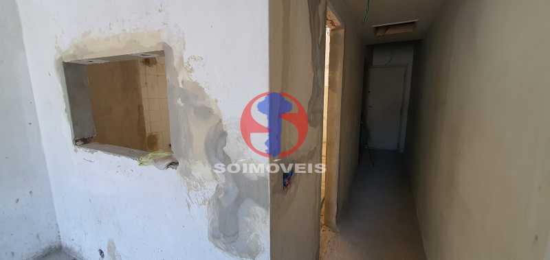 CORREDOR DE ENTRADA - Apartamento 2 quartos à venda Rio Comprido, Rio de Janeiro - R$ 270.000 - TJAP21321 - 21