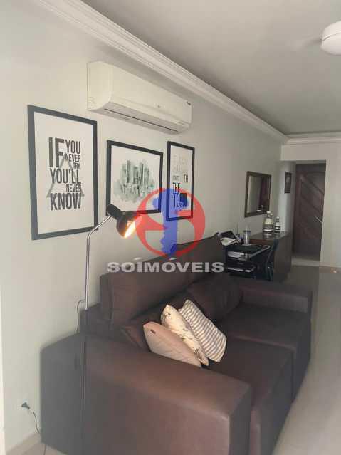 Sala - Apartamento 2 quartos à venda Grajaú, Rio de Janeiro - R$ 580.000 - TJAP21425 - 3