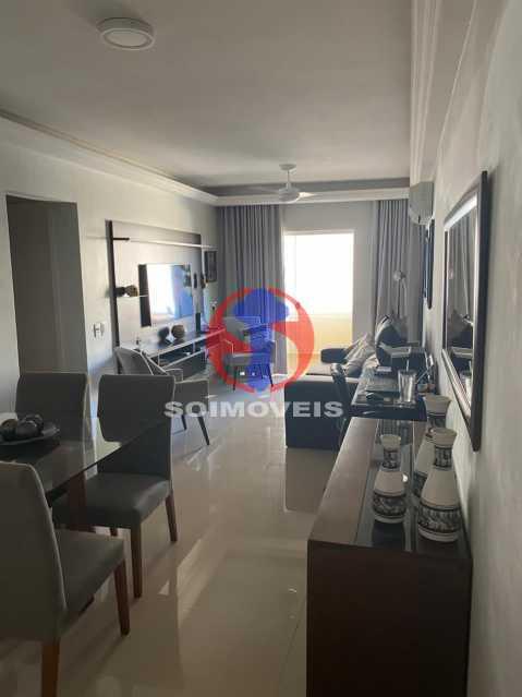 Sala - Apartamento 2 quartos à venda Grajaú, Rio de Janeiro - R$ 580.000 - TJAP21425 - 1