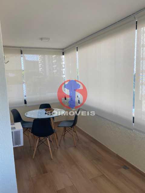 Varanda - Apartamento 2 quartos à venda Grajaú, Rio de Janeiro - R$ 580.000 - TJAP21425 - 5