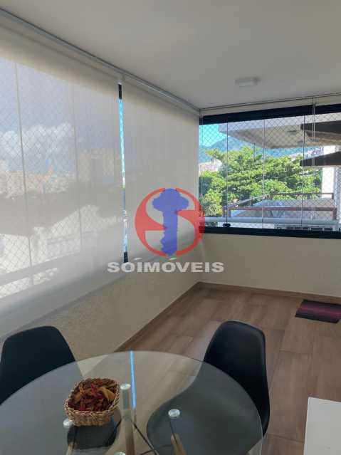 Varanda - Apartamento 2 quartos à venda Grajaú, Rio de Janeiro - R$ 580.000 - TJAP21425 - 6