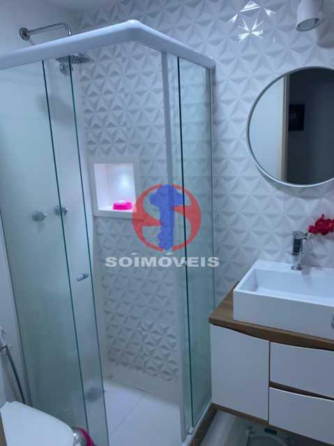 Banheiro - Apartamento 2 quartos à venda Grajaú, Rio de Janeiro - R$ 580.000 - TJAP21425 - 7
