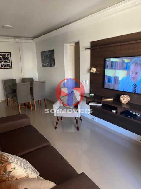 Sala - Apartamento 2 quartos à venda Grajaú, Rio de Janeiro - R$ 580.000 - TJAP21425 - 4