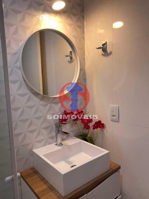 Banheiro Suíte - Apartamento 2 quartos à venda Grajaú, Rio de Janeiro - R$ 580.000 - TJAP21425 - 10