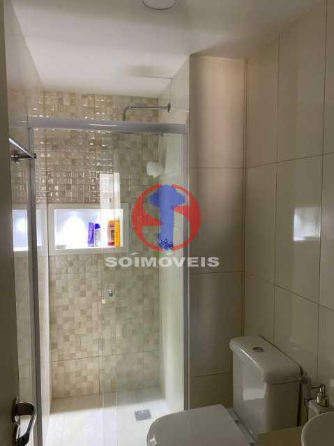 Banheiro - Apartamento 2 quartos à venda Grajaú, Rio de Janeiro - R$ 580.000 - TJAP21425 - 11