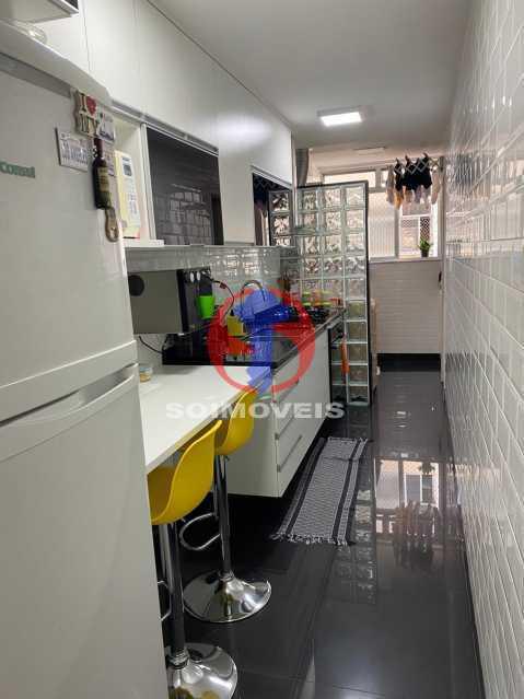 Cozinha - Apartamento 2 quartos à venda Grajaú, Rio de Janeiro - R$ 580.000 - TJAP21425 - 12