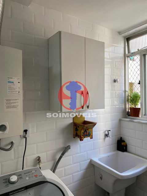 Área - Apartamento 2 quartos à venda Grajaú, Rio de Janeiro - R$ 580.000 - TJAP21425 - 14