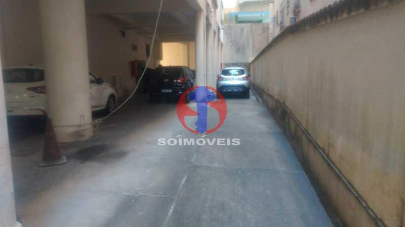 Garagem - Apartamento 2 quartos à venda Grajaú, Rio de Janeiro - R$ 400.000 - TJAP21335 - 3