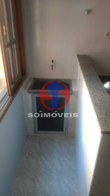 Área - Apartamento 2 quartos à venda Engenho Novo, Rio de Janeiro - R$ 330.000 - TJAP21329 - 6