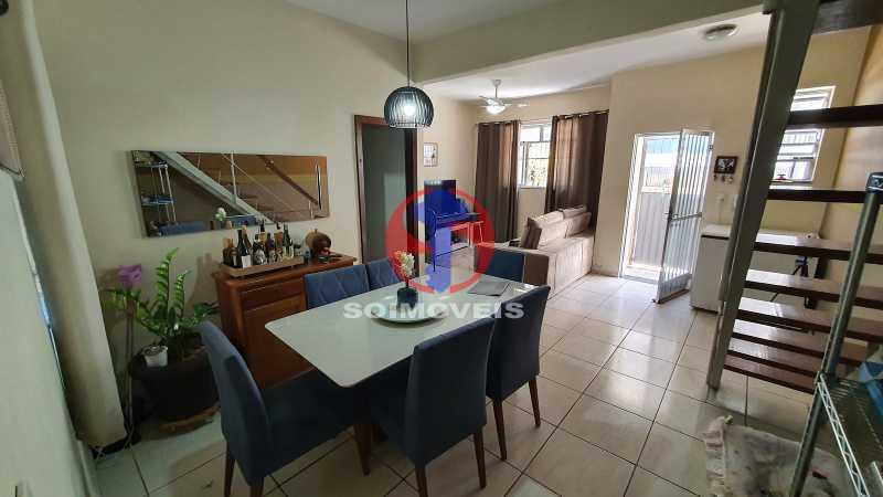 SALA - Casa de Vila 3 quartos à venda Riachuelo, Rio de Janeiro - R$ 410.000 - TJCV30070 - 4