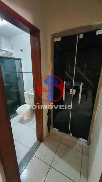 BANHEIRO E ARMARIO - Casa de Vila 3 quartos à venda Riachuelo, Rio de Janeiro - R$ 410.000 - TJCV30070 - 8