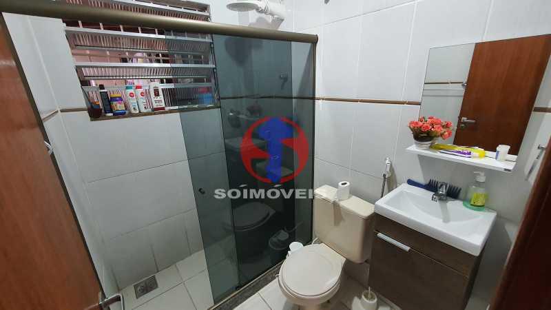 BANHEIRO  - Casa de Vila 3 quartos à venda Riachuelo, Rio de Janeiro - R$ 410.000 - TJCV30070 - 10
