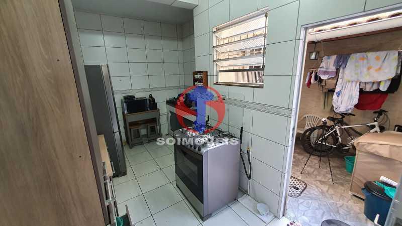 COZINHA - Casa de Vila 3 quartos à venda Riachuelo, Rio de Janeiro - R$ 410.000 - TJCV30070 - 6
