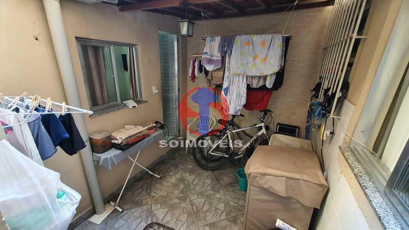 ÁREA DE SERVIÇO - Casa de Vila 3 quartos à venda Riachuelo, Rio de Janeiro - R$ 410.000 - TJCV30070 - 11
