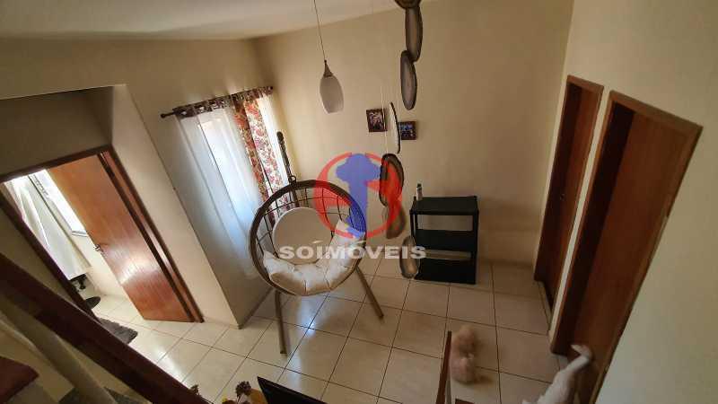 HALL 2º ANDAR - Casa de Vila 3 quartos à venda Riachuelo, Rio de Janeiro - R$ 410.000 - TJCV30070 - 13