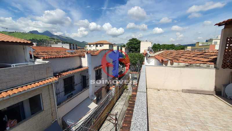 TERRAÇO - Casa de Vila 3 quartos à venda Riachuelo, Rio de Janeiro - R$ 410.000 - TJCV30070 - 22