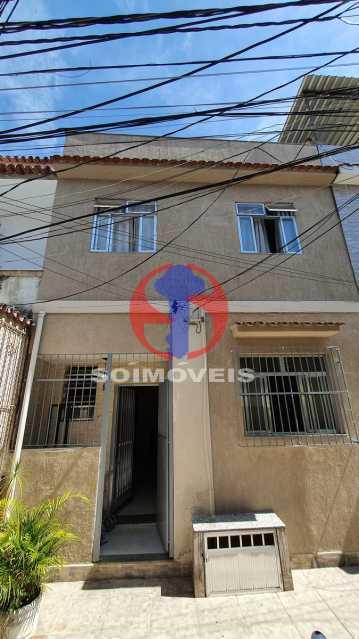 FACHADA - Casa de Vila 3 quartos à venda Riachuelo, Rio de Janeiro - R$ 410.000 - TJCV30070 - 1