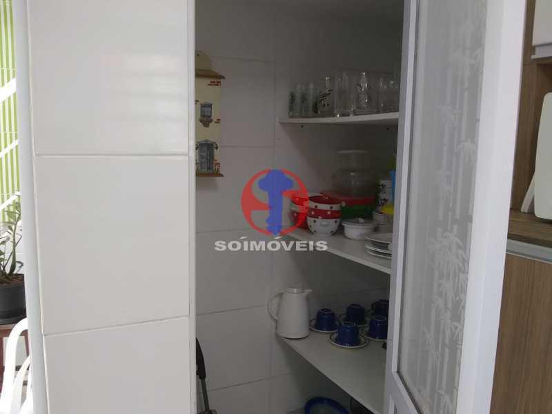13 - Casa 4 quartos à venda Tijuca, Rio de Janeiro - R$ 1.500.000 - TJCA40054 - 13