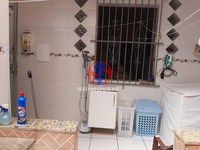 Área - Casa 4 quartos à venda Tijuca, Rio de Janeiro - R$ 800.000 - TJCA40047 - 6