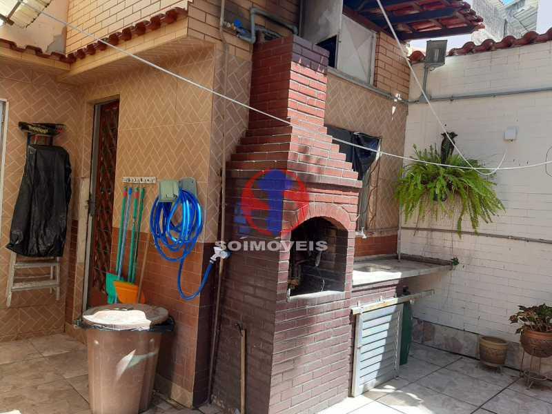 Churrasqueira - Casa 4 quartos à venda Tijuca, Rio de Janeiro - R$ 800.000 - TJCA40047 - 8