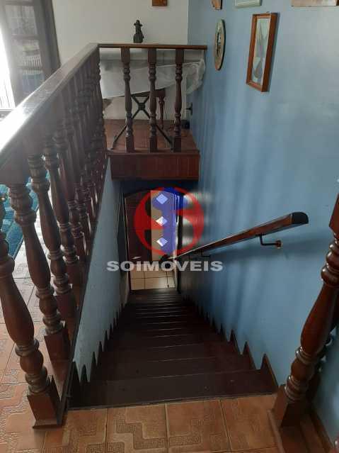 Circulação - Casa 4 quartos à venda Tijuca, Rio de Janeiro - R$ 800.000 - TJCA40047 - 12